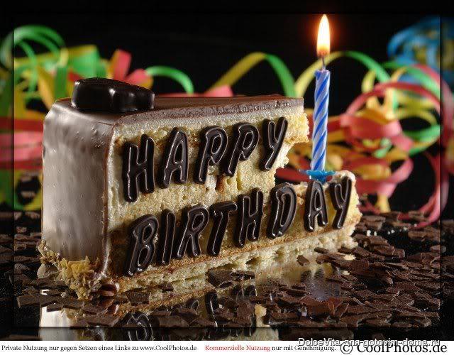 Поздравления с днем рождения мужчине на английском