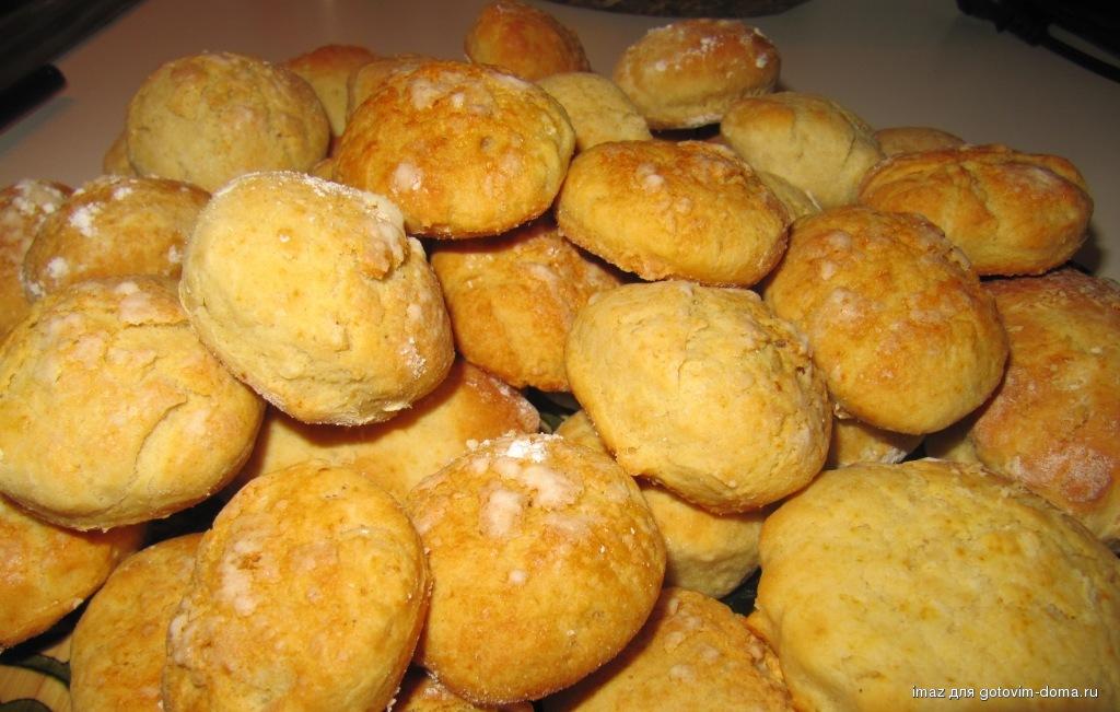 Пышное творожное печенье рецепт