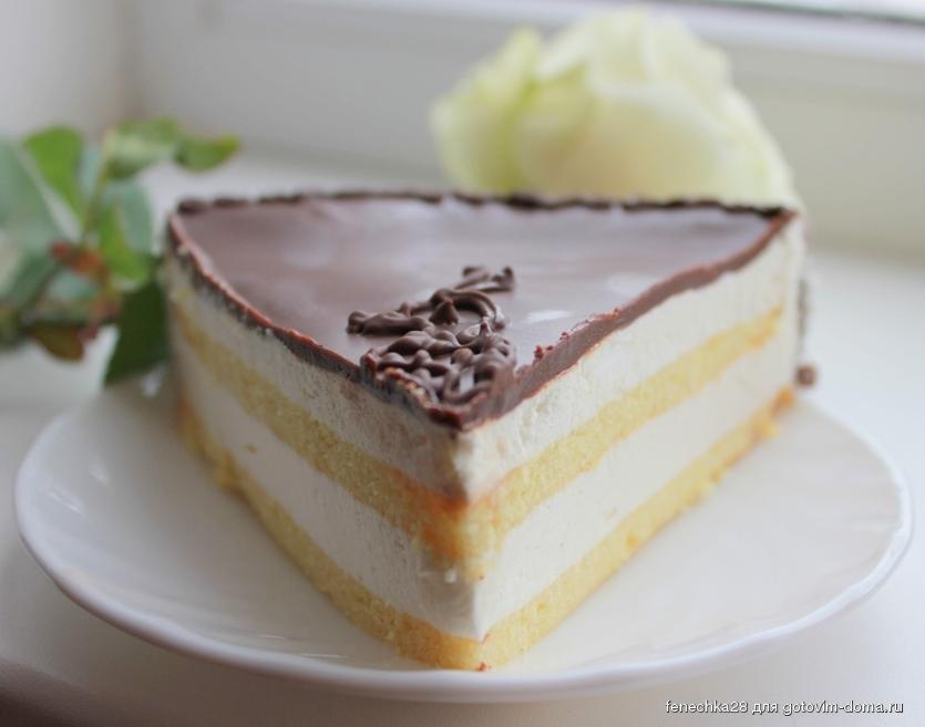Рецепт торта птичье молоко по рецепту ресторана прага