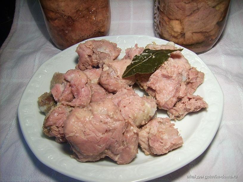 Как варить тушёнку в домашних условиях из свинины
