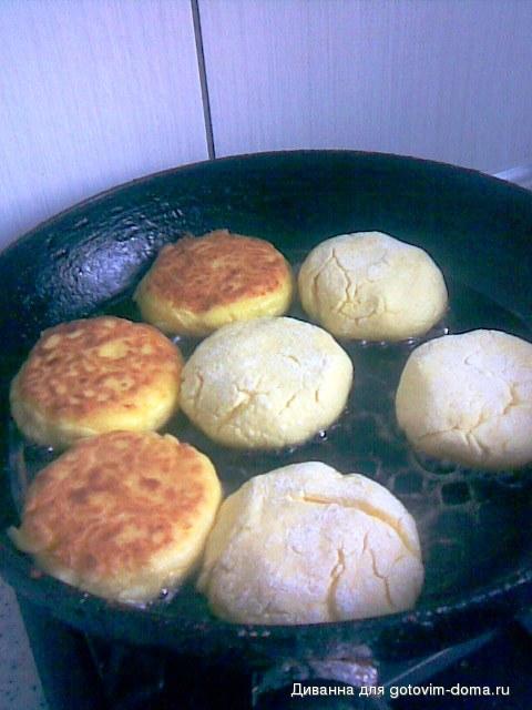 Сырники с манкой и творогом рецепт без муки и яиц