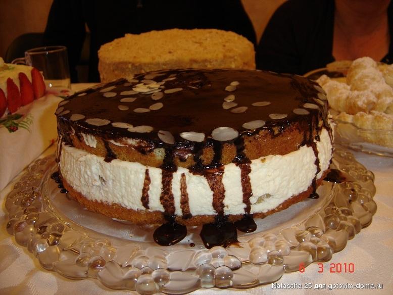 Торт сливочные облака рецепт пошагово с фото