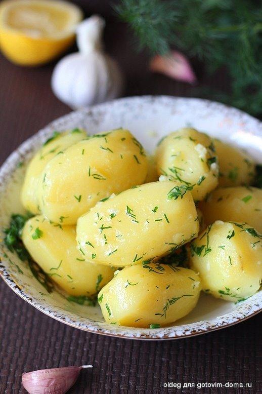 Как сделать что бы варена картошка была вкусная