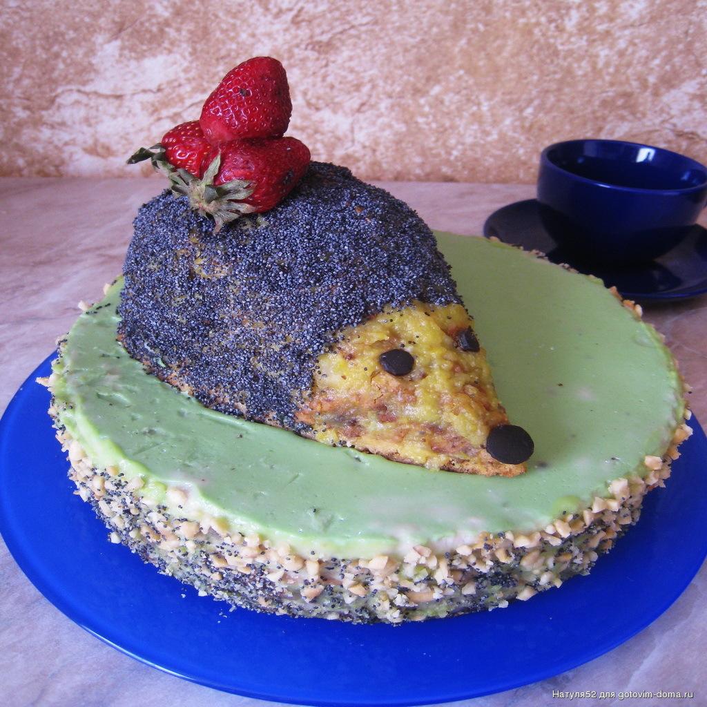 Торт Ёжик Кулинарный сайт