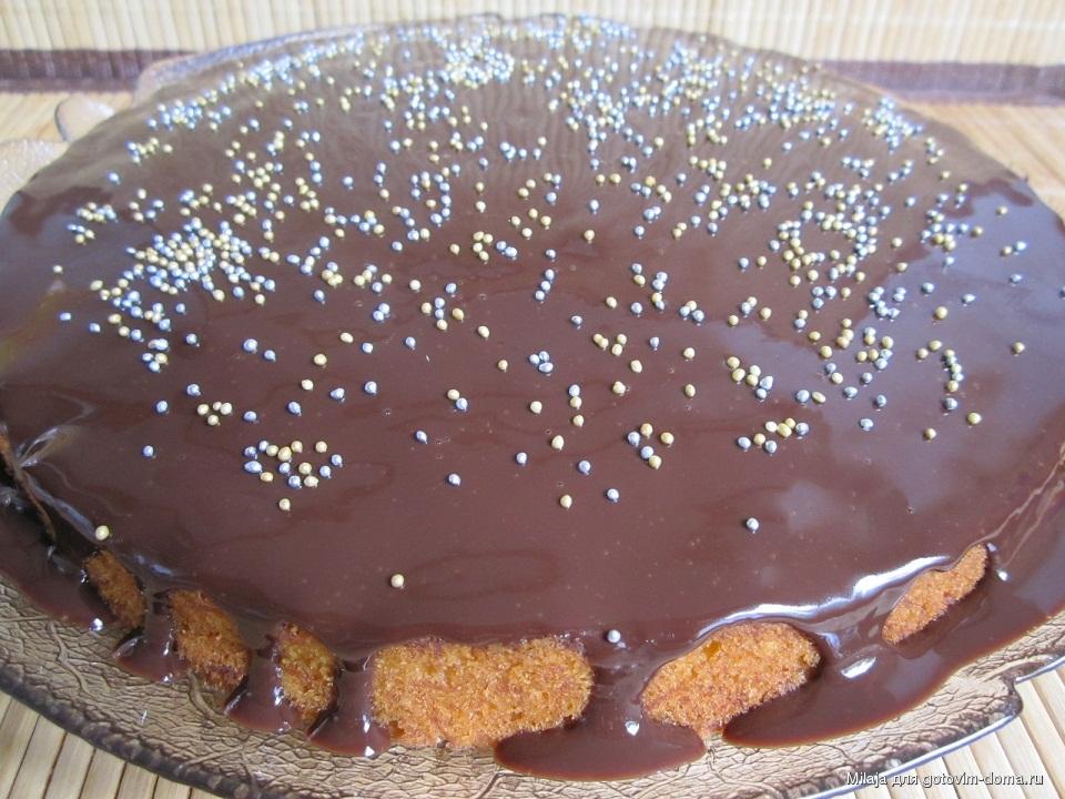 простой пирог без яиц рецепт с фото