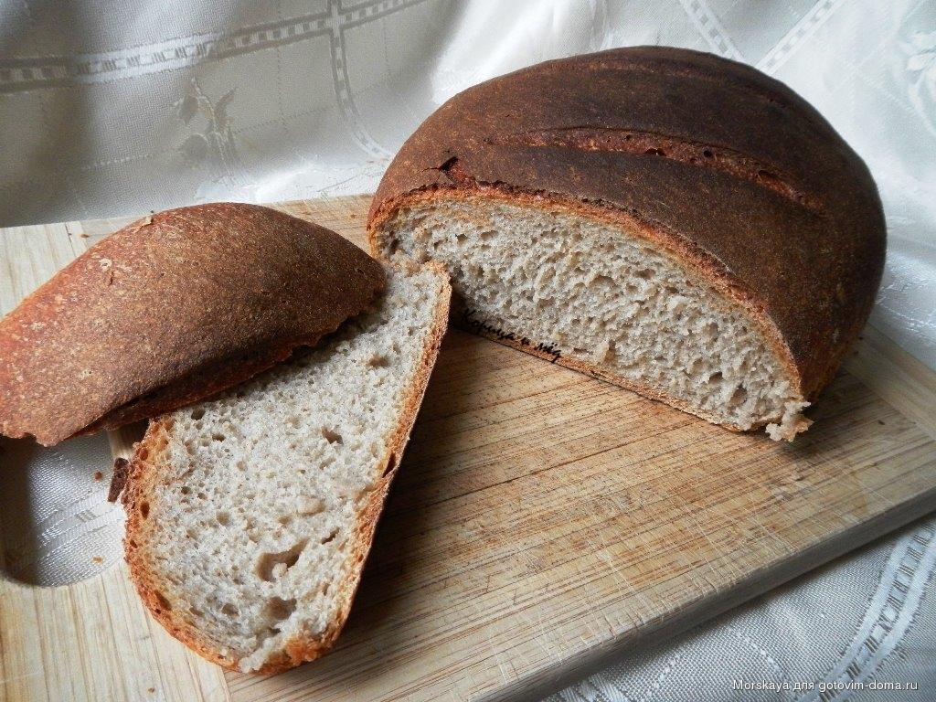 Ржаной хлеб на закваске рецепт с фото