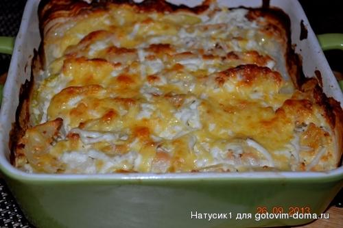 куриное филе с кабачками и помидорами в духовке рецепт с фото