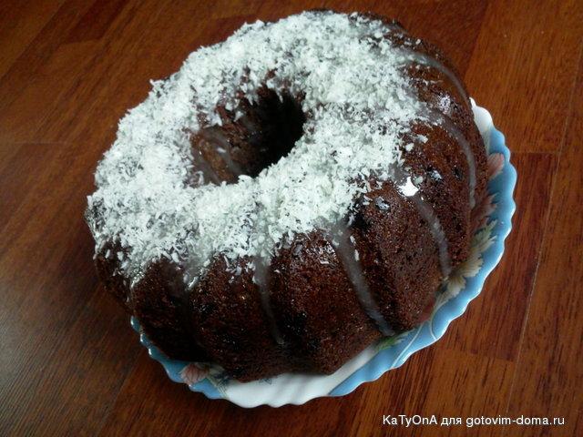 Шоколадный кекс готовим дома