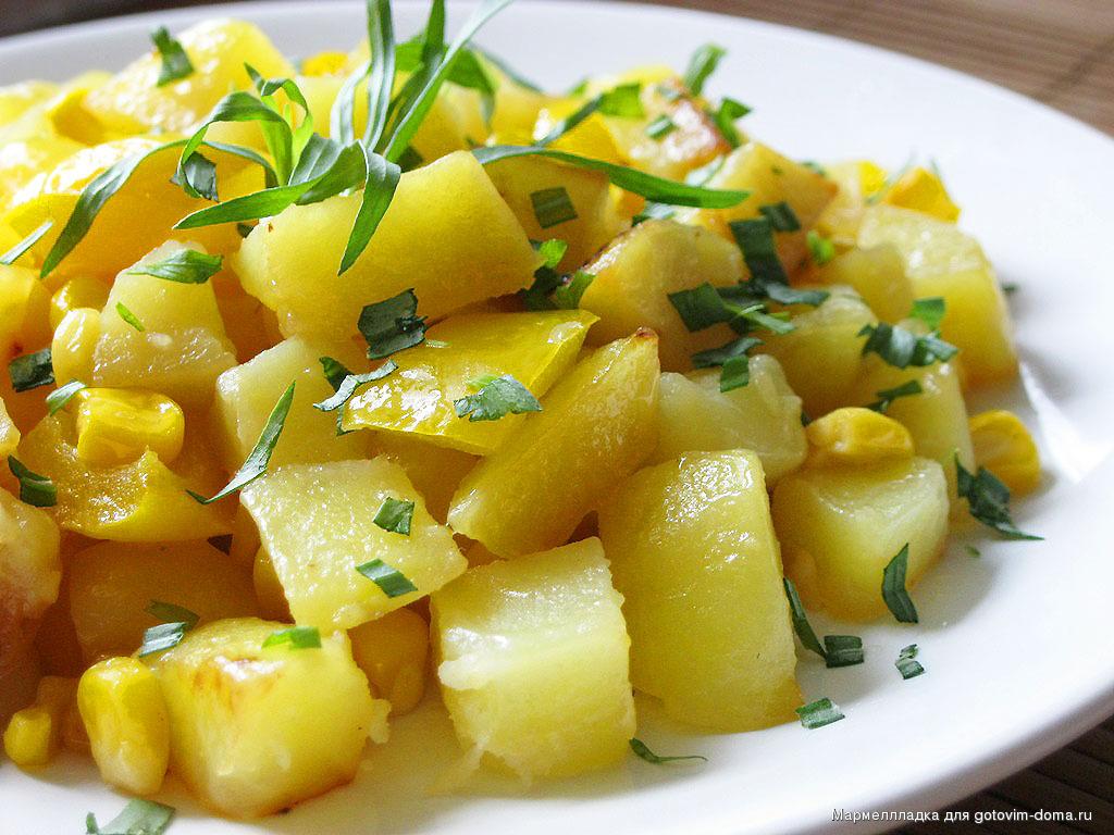 Интересные блюда из картофеляы с фото