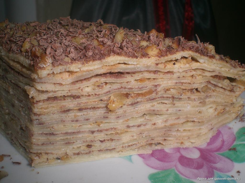 Пирог из сгущенки