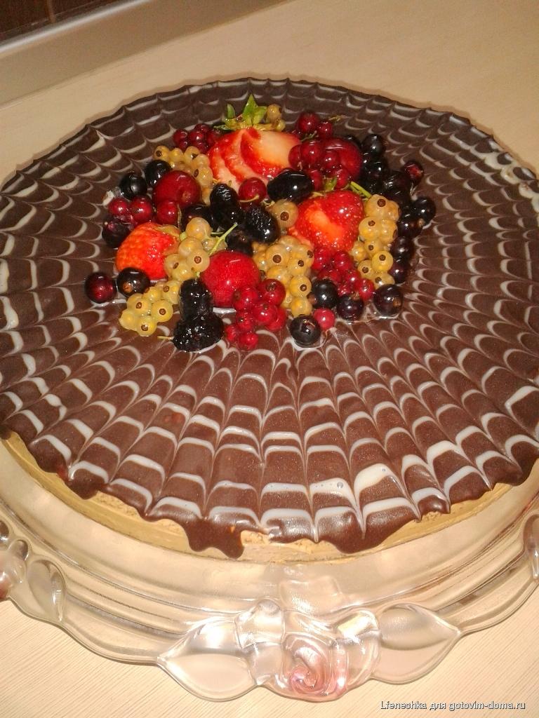 Кулинария готовим дома с фотографиями торты