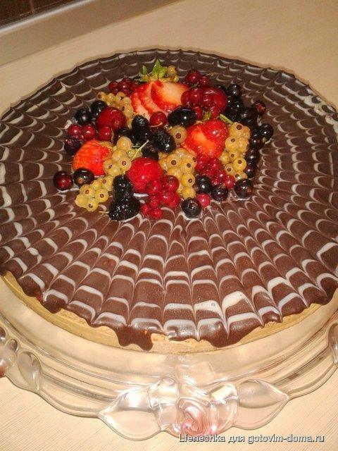 Торт шифоновая прага