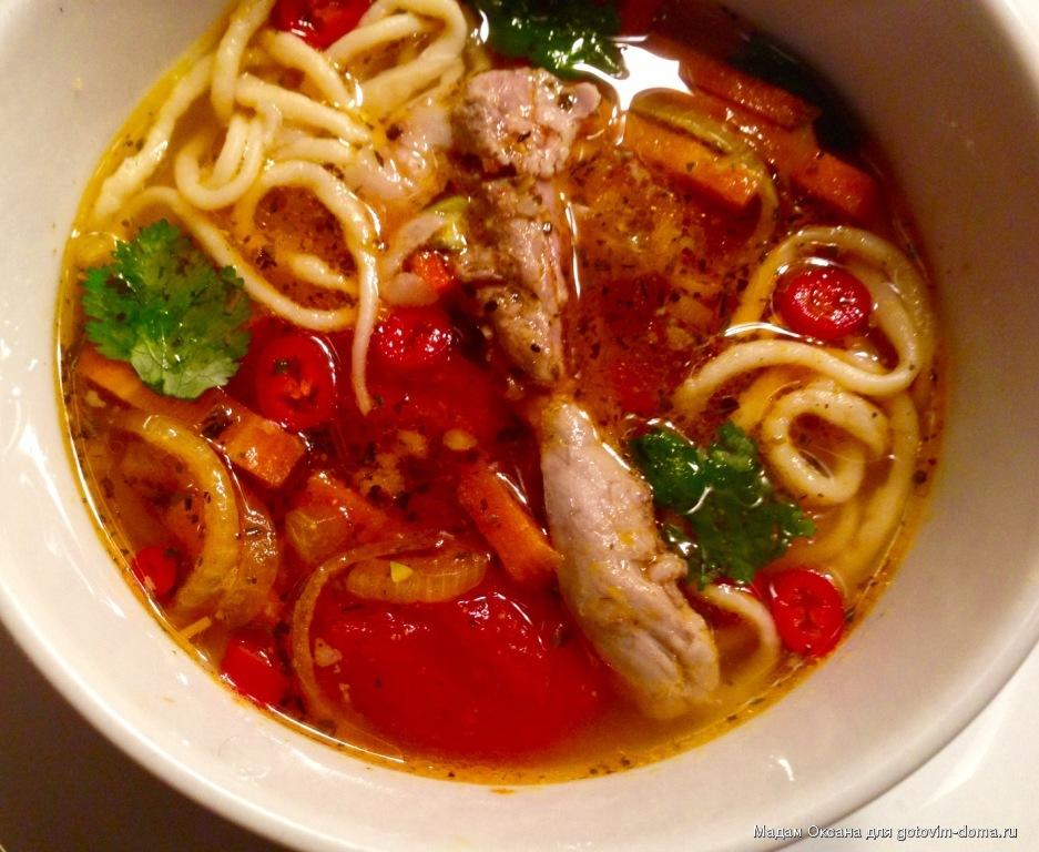 Суп лагман из свинины рецепт с пошагово