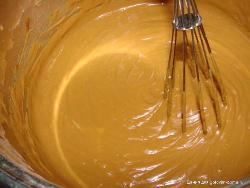 Рецепт крема для торта с варёной сгущёнкой рецепт