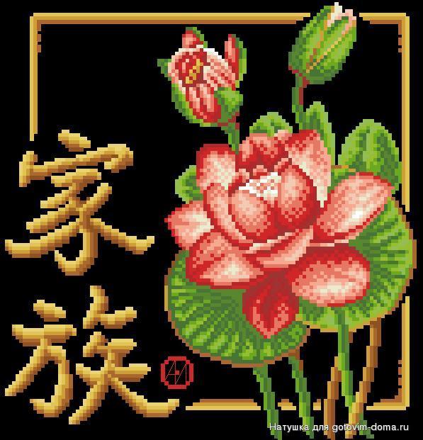 Китайские иероглифы.