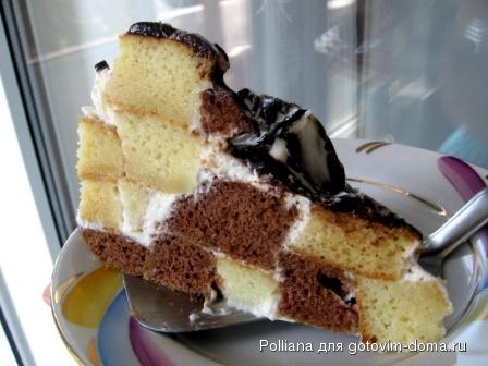 арабская горка торт рецепт