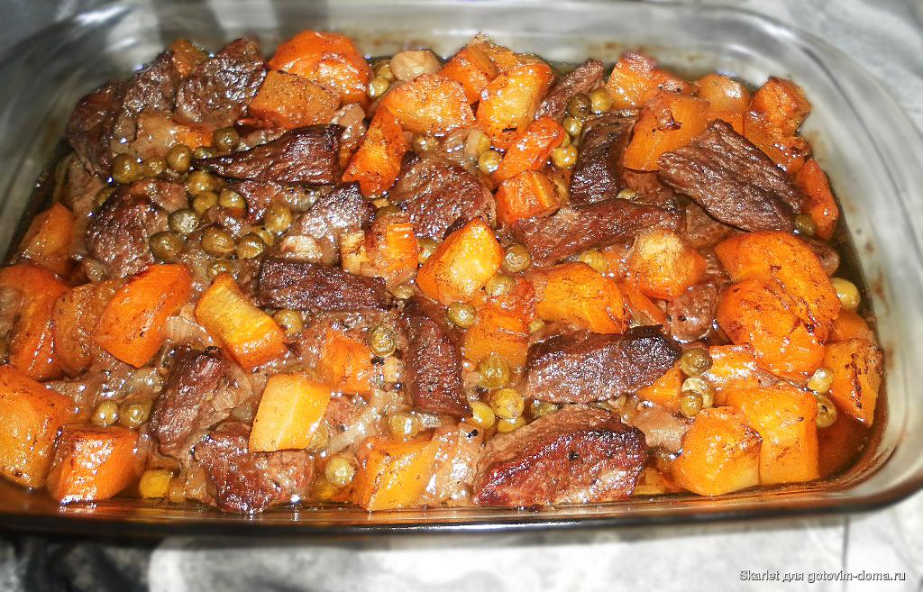 Мясо телятины в духовке рецепты с фото