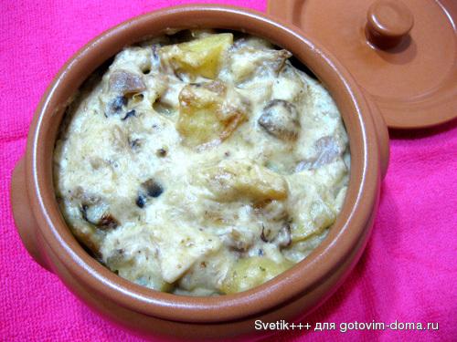 Салат из маринованных грибов по-корейски