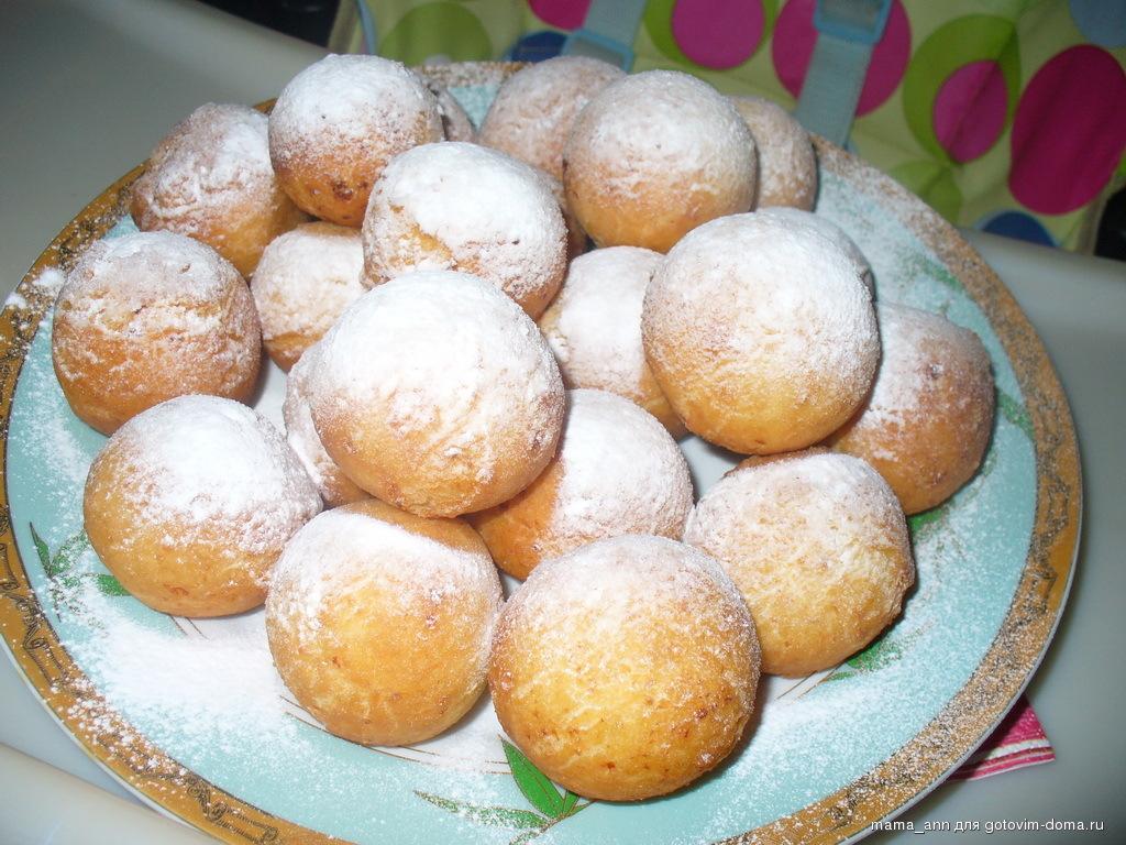 Как приготовить пончики с творогом в домашних условиях пошаговый рецепт с фото