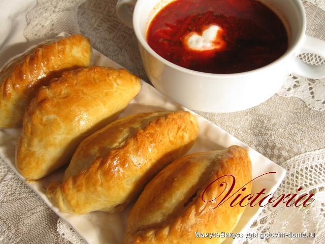 Литовские пирожки Кибинай