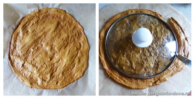 рецепт торт медовый с жидким тестом