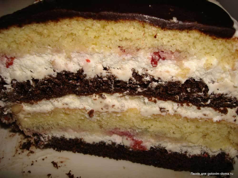 Торт день и ночь рецепт с фото пошагово