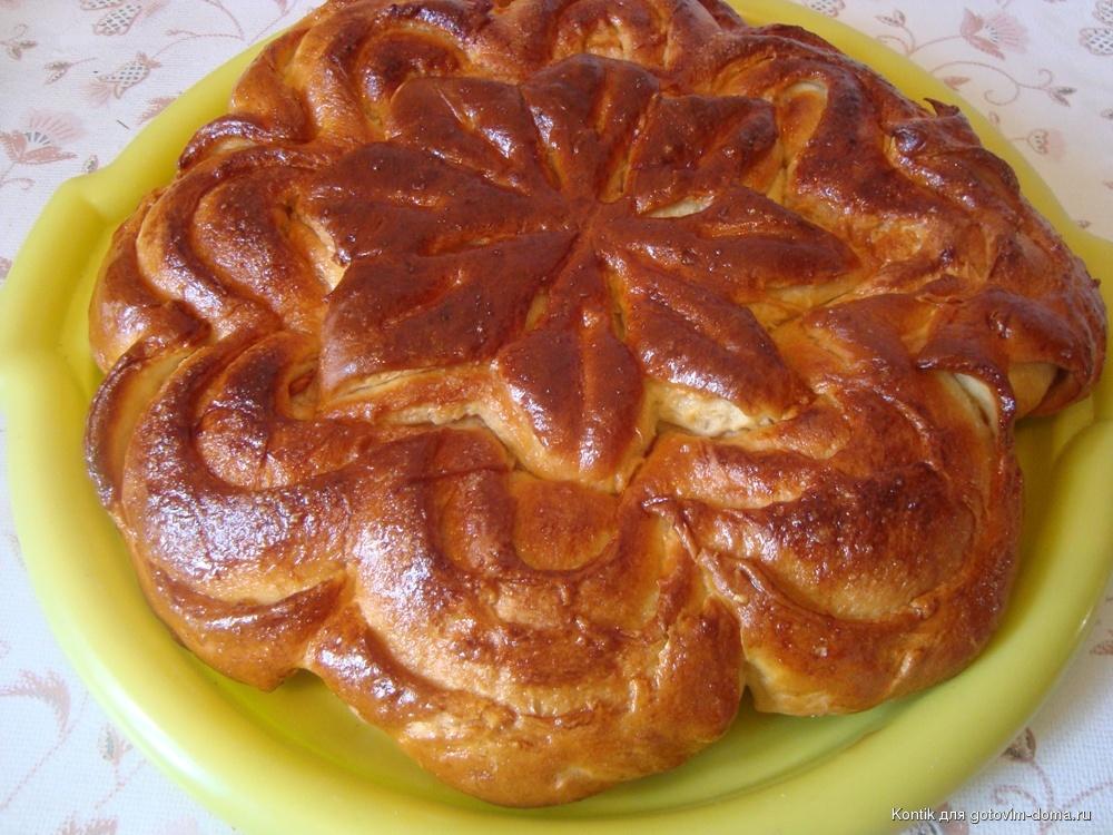 Пироги разные вкусные