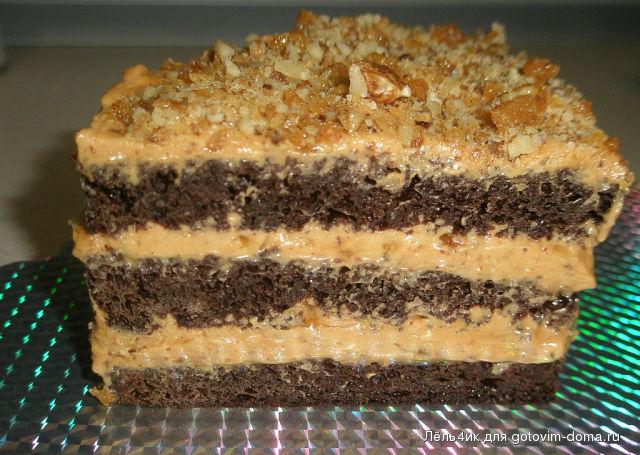грильяжный торт с фото