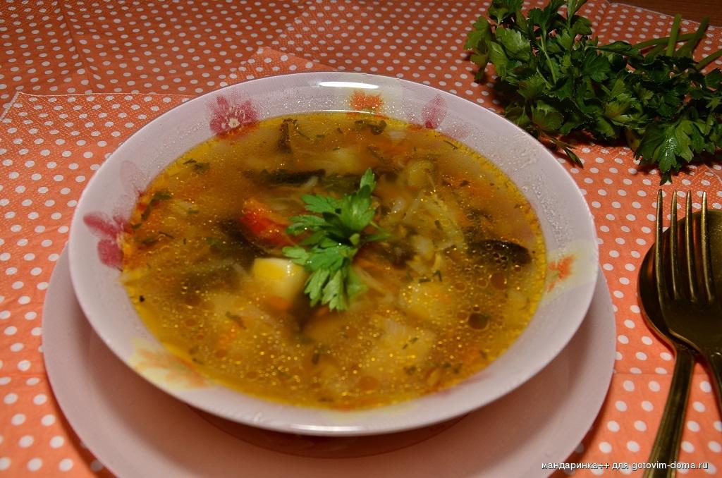 Русские супы рецепты с фото