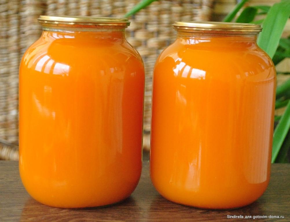 Сок с тыквы рецепт