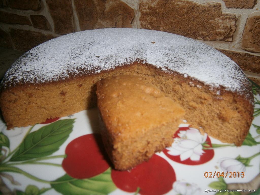 Пирог сметанник в мультиварке рецепты с фото