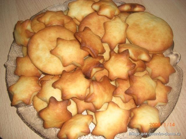 Творожное печенье рецепт с фото без масла