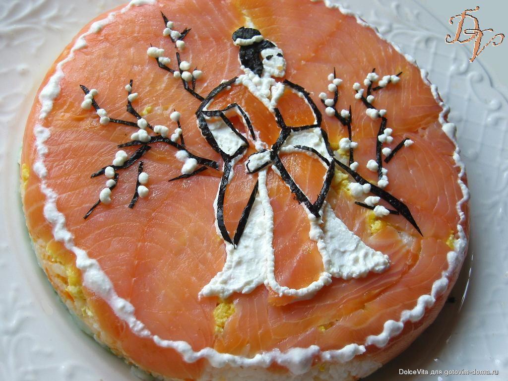 Гейша рецепт торта с фото