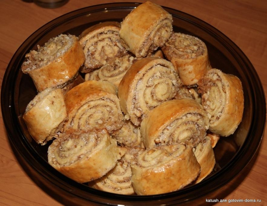 Как сделать начинку для рулета из грецких орехов