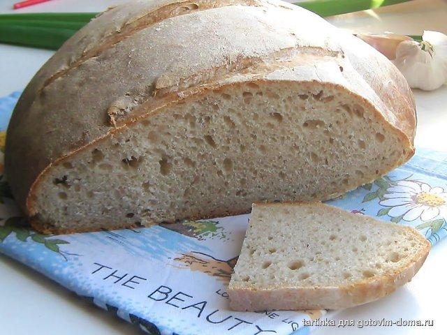 Рецепт приготовления ржаного хлеба закваске