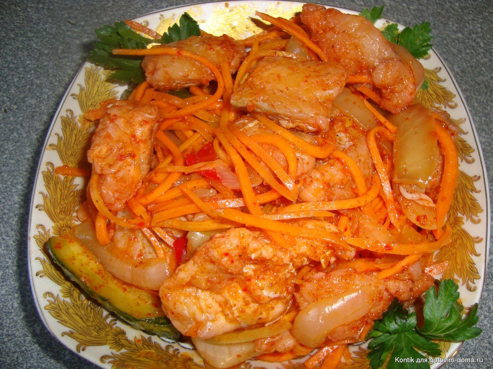 Рецепт рыбы хе из горбуши