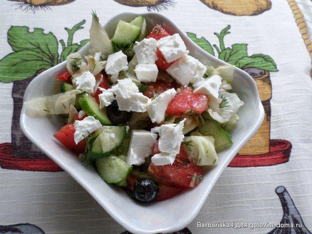Заправка к греческому салату в домашних условиях