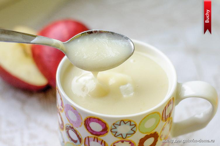 молочный кисель рецепт густой в мультиварке калорийность