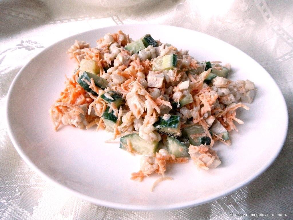 Вкусняшки салаты рецепты с