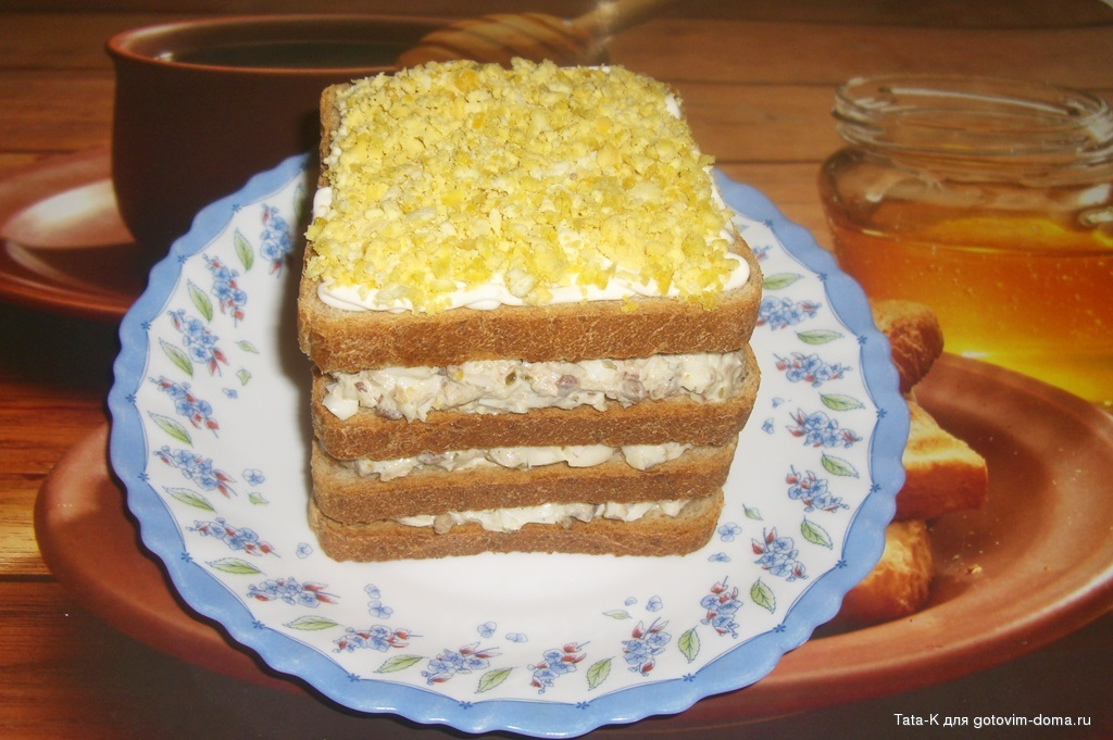 торт с тунцом фото