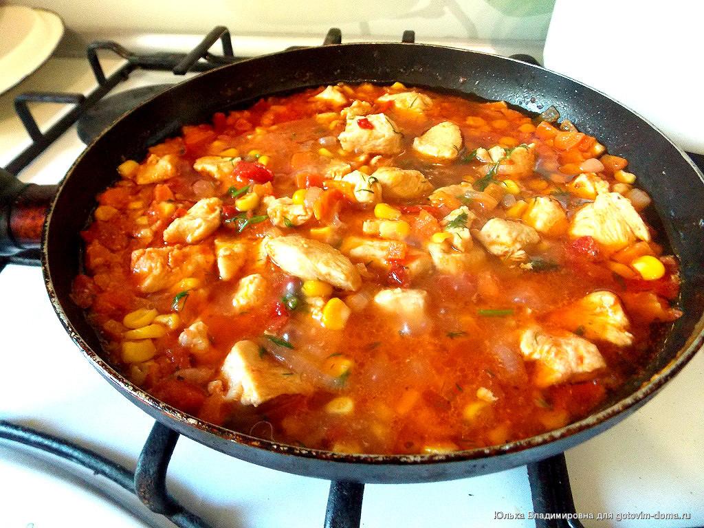 рецепт курицы по мексикански с фото компании сможет подобрать