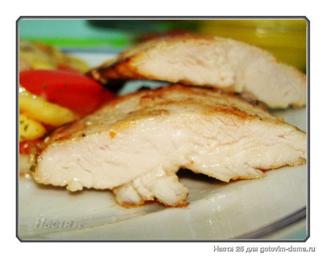 Рецепты куриного филе сочного в духовке с фото