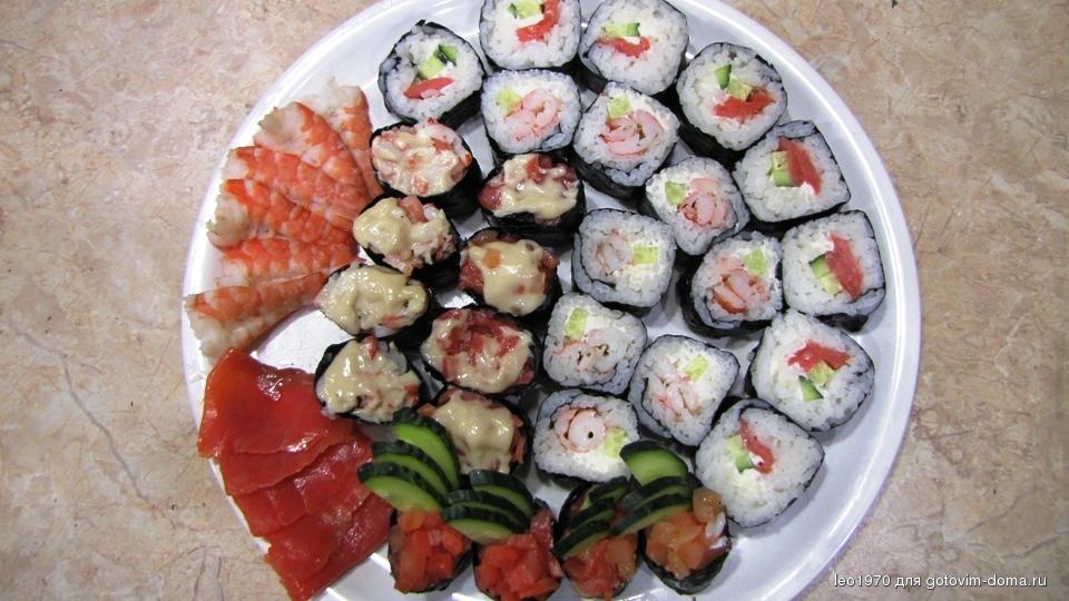 Рецепт японских роллов