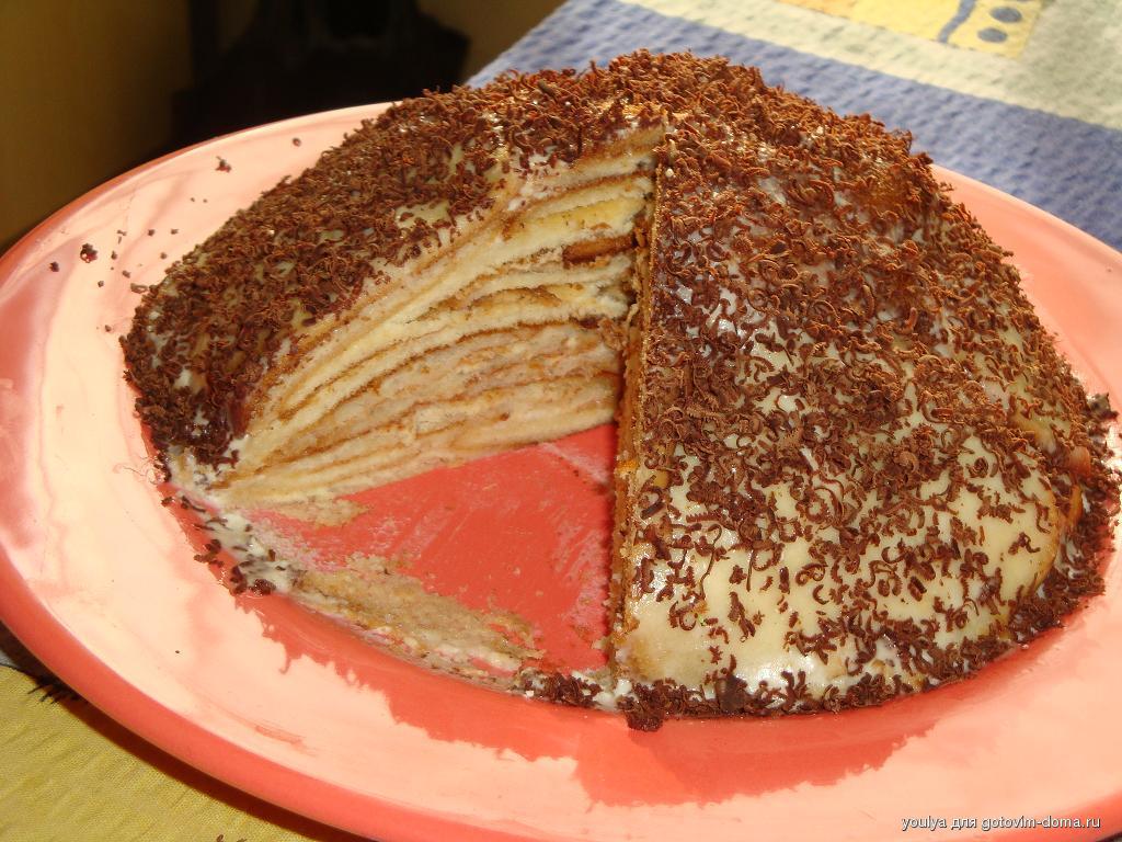 Черепаха шоколадная крошка • торты