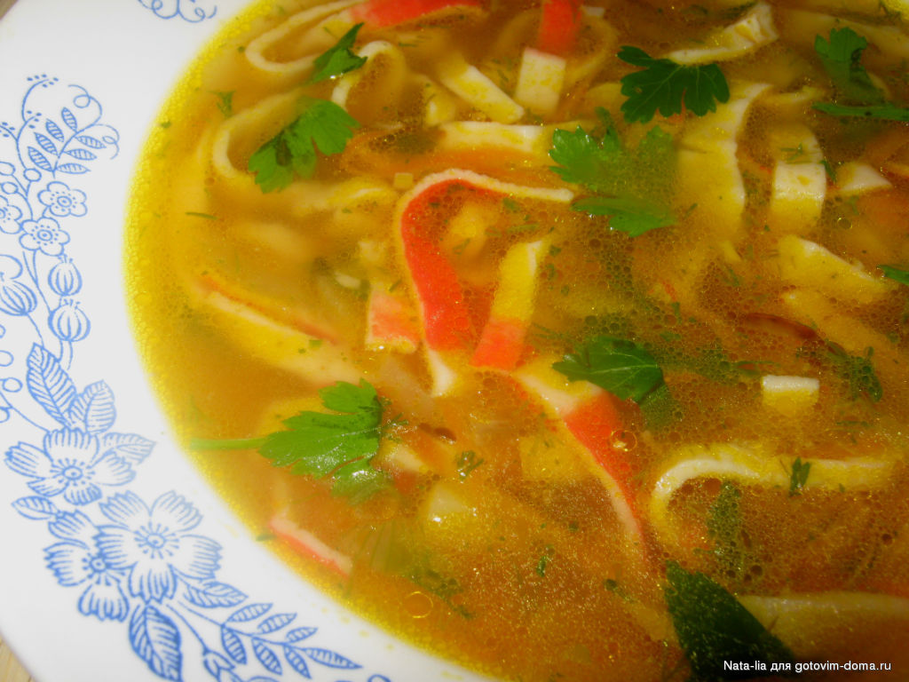 рецепт супов на английском языке