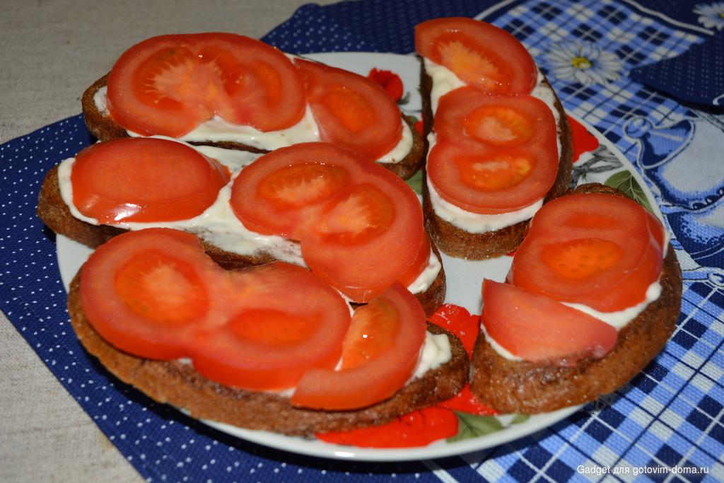 Как сделать бутерброд без колбасы 587