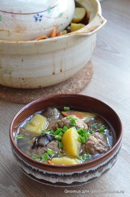 как приготовить суп в электродуховке