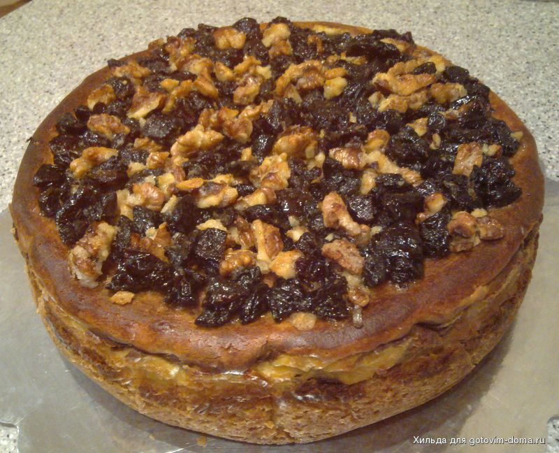 Тигровый пирог рецепт