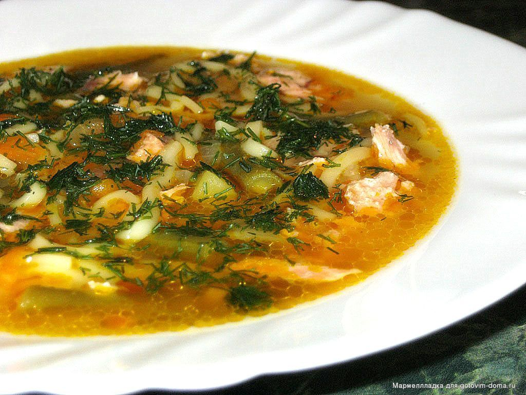 Суп из морепродуктов с лапшой рецепты