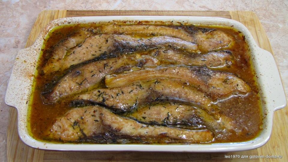 сазан кусочками в духовке рецепты с фото